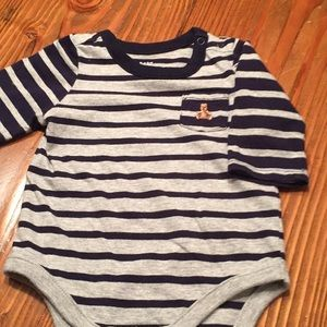 Gap baby o Edie gray/black size 0-3 months